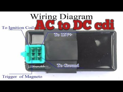Ac To Dc Cdi Convertion Battery Operated Cdi Youtube