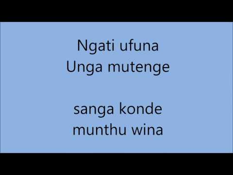 Anajaila Lyric Video - Kantu, Wezi, Bombshell