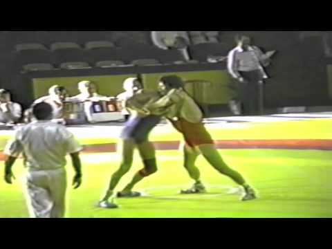 1990 Senior Greco World Championships: 62 kg Rachid Khadar (MAR) vs. Juha Virtanen (FIN)