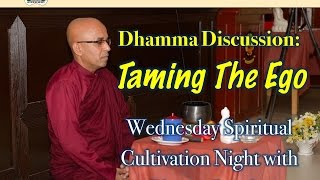 Download Video Dhamma Discussion: Taming The Ego with Bhante Sujatha @ SJBA MP3 3GP MP4