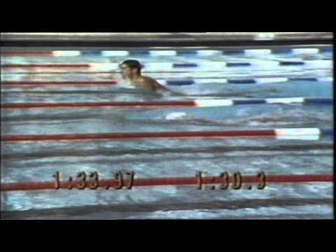 Swimming Finals Highlights of the 1984 L.A. Olympic