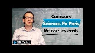 Les écrits du concours de Sciences Po