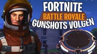 ACHTER DE GUNSHOTS AAN! - Fortnite: Battle Royale DUO's (#102)