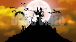 Spooky HD Halloween Background Loop