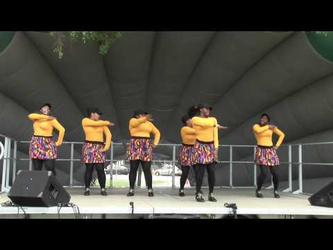 Phi Gamma Shaw High School Step Team