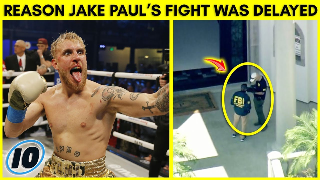 The Real Reason Why Jake Paul Fight Was Delayed