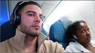 FIRST TIME ON A PLANE | WE LEFT THE COUNTRY Video