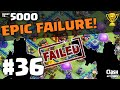 """Clash of Clans Attacks ♦ """"EPIC FAILURE"""" The Quest to 5000 Trophies #36 ♦ Clash of Clans ♦"""