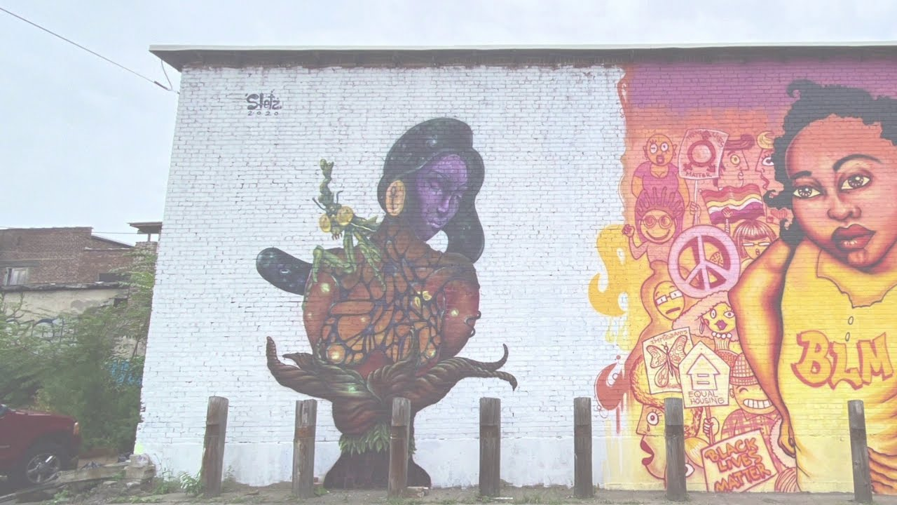 Timelapse Mural at Cryptic Gallery NY