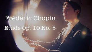 F. Chopin Study op.10 no.5 Pianist Jongdo An