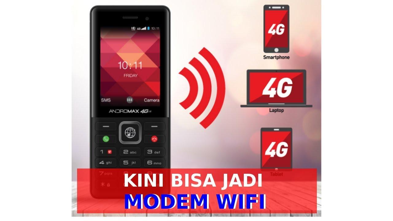 Hp 4g Termurah 199 Ribu Bisa Dijadikan Modem Wifi Atau Hotspot Portabel