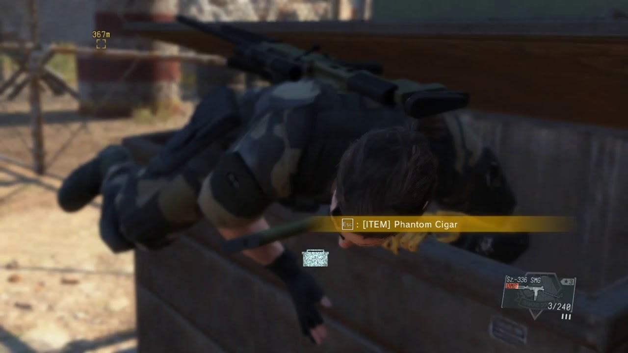 Metal gear solid 5 - the phantom pain -- Episode 24-- close contact
