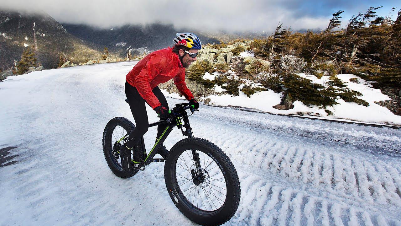 Tim Johnson's Historic Fat Bike Winter Ascent - YouTube