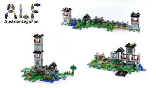 Lego Minecraft 21127 The Fortress Alternate Models - Lego Speed Build Review