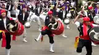 町田エイサー祭りでの演舞後半です。