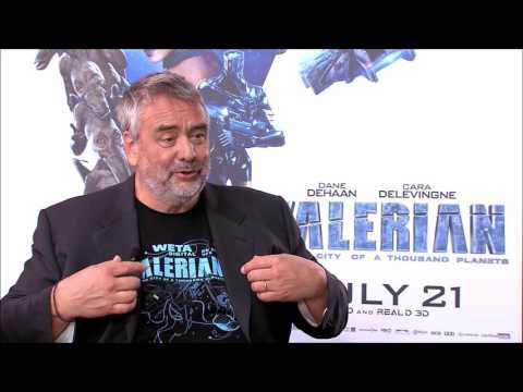 "Luc Besson on ""Valerian"""
