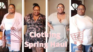 ASOS + MORE Spring try on Haul~Plus size Fashion