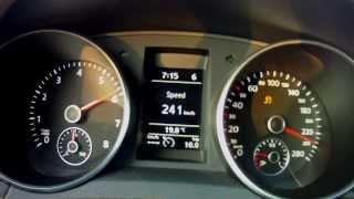 APR K04 VW Golf GTI Racelogic 70-250+ km/h