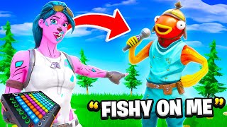I Pretended to be Tiko with a Voice Changer in Fortnite... (it worked)