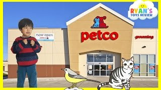 Family Fun Trip to PetCo Animals for Kids