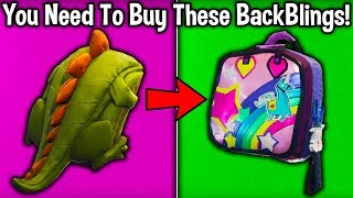 10 BACKBLINGS YOU NEED TO BUY in Fortnite! (best backblings to get)