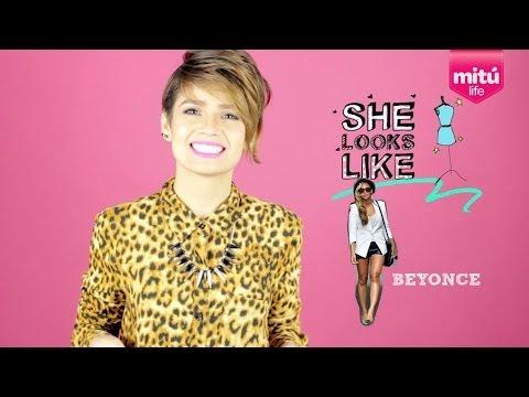 Consigue el look de Beyonce (She Looks Like) - Maiah Ocando