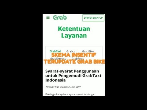 Full Download] Cara Merubah Skema Insentif Grab