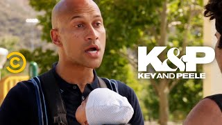 You Can't Fight a Guy with a Baby - Key & Peele