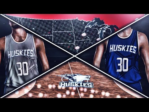 NBA 2K17 Vancouver Huskies MyLeague Ep. 1 - JERSEY AND COURT DESIGN!!! | EXPANSION!