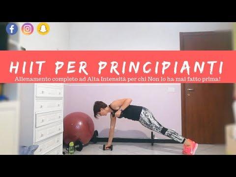 hiit for beginners  allenamento per principianti total
