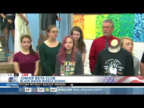 Amanda Live at Black Water Middle School with Jr. Beta Club - Good Morning Carolinas - WPDE ABC 15