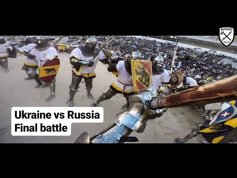 Battle of the Nations 2017 - Ukraine vs Russia final of 21vs21 of world championship