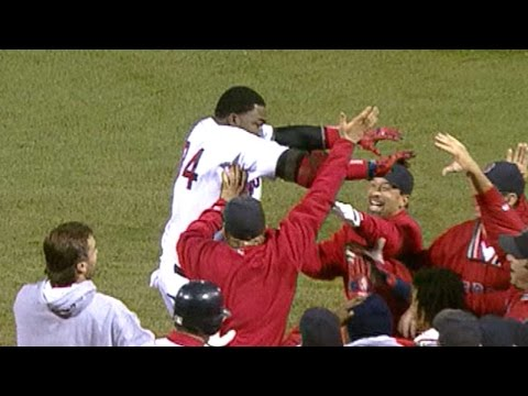 2004 ALCS Gm 4: David Ortiz's walk-off two run homer
