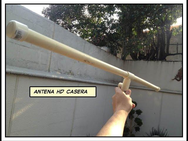 Cómo Hacer Una Antena Hd Casera
