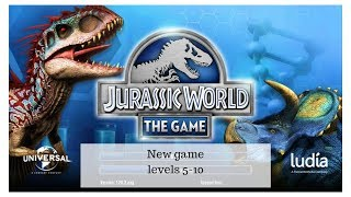 Jurassic park world levels 5-10