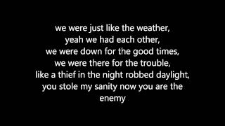 Chris Daughtry - Traitor (Lyrics)