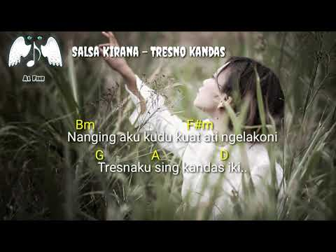 Chord & Lirik Lagu Salsa Kirana - Tresno Kandas