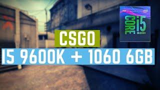 I5 8600K Gtx 1060 6Gb Csgo