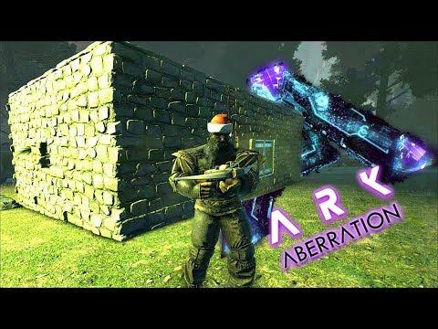 ARK ABERRATION! Starter Base House Place! ( Ark Aberration Gameplay E4 )