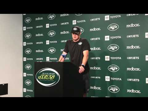 Jets' Sam Darnold dishes on relationship with Adam Gase
