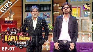 Raju Srivastav As Amitabh Bachchan - The Kapil Sharma Show - 15th Apr, 2017