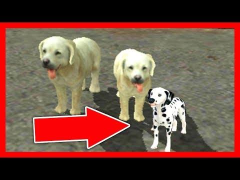 СИМУЛЯТОР СОБАКИ #4 СОБАКА родила ЩЕНКА развлекательное в Dog Sim