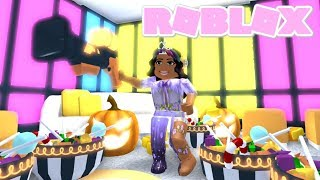 I got the UNLIMITED Halloween CANDY CANNON! (Roblox Adopt me)