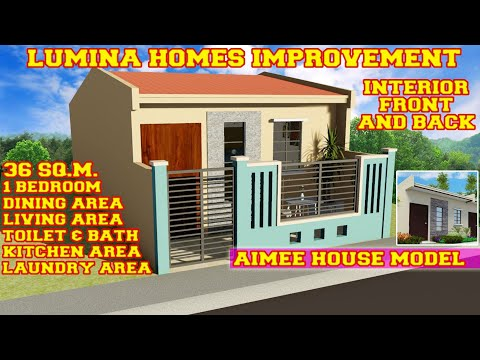 Suggested Improvement Of Lumina Homes Turnover Unit Aimee House Model Youtube