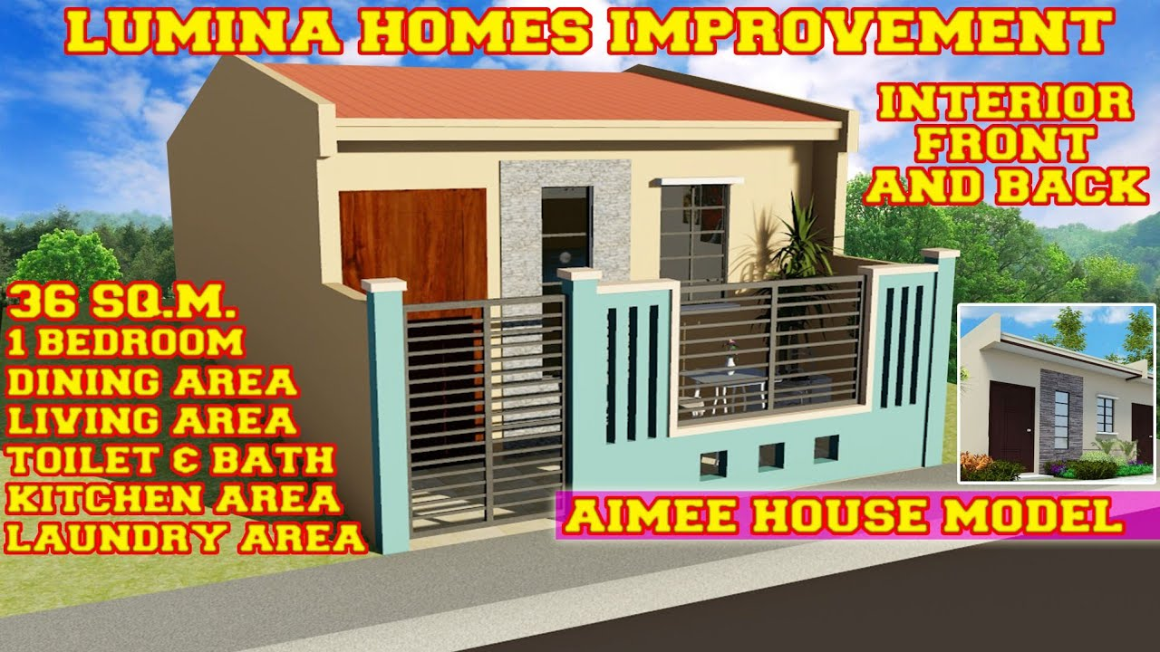 Small House Design 20 Sq M With 1 Bedroom House Design Idea Youtube