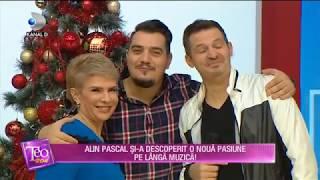 Teo Show (12.12.2018) - Alin Pascal si-a descoperit o noua pasiune pe langa muzica! Partea ...