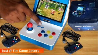 A8 Retro Arcade Gaming console ! 3000 Games ! Enjoy on Television | Review