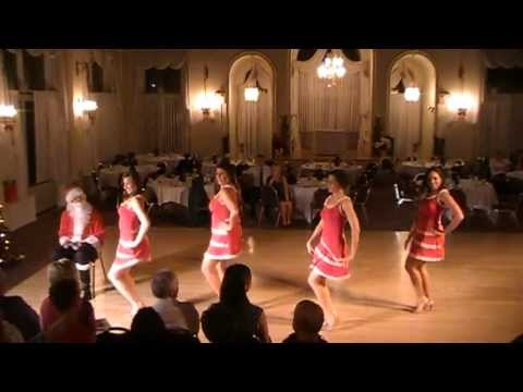 "Dance to ""Santa Baby"" by Pussycat Dolls"