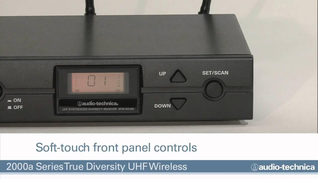 Best pris på Audio Technica ATW T220A Mikrofoner