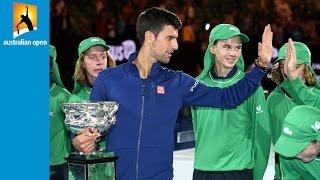 Top 5 ballkid moments | Australian Open 2016